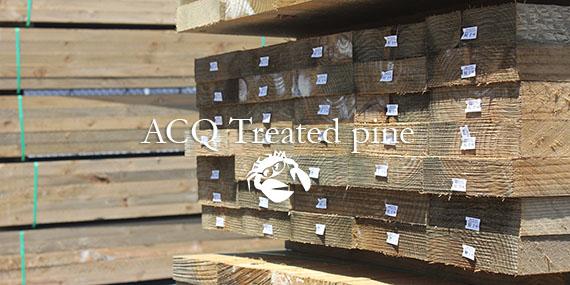 ACQ Treated pine