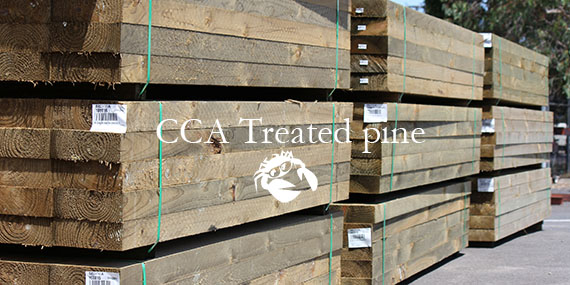 CCA Treated pine
