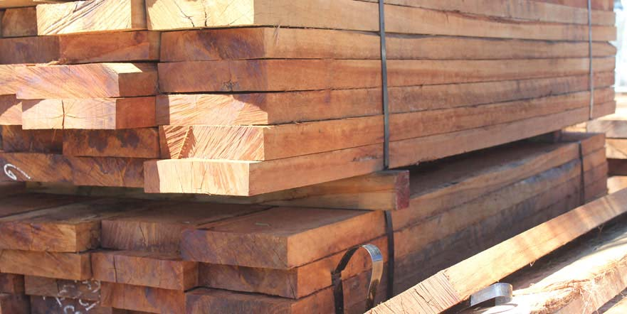 Timber Pine Sleepers