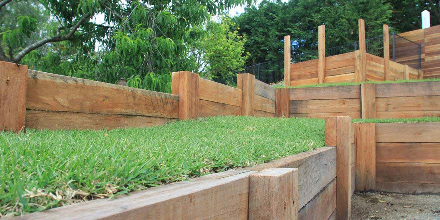 Timber Landscaping Melbourne