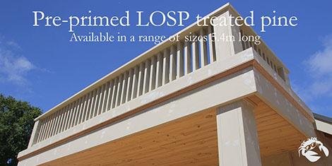 LOSP Treated pine