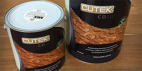 Cutek decking oils and cleaners