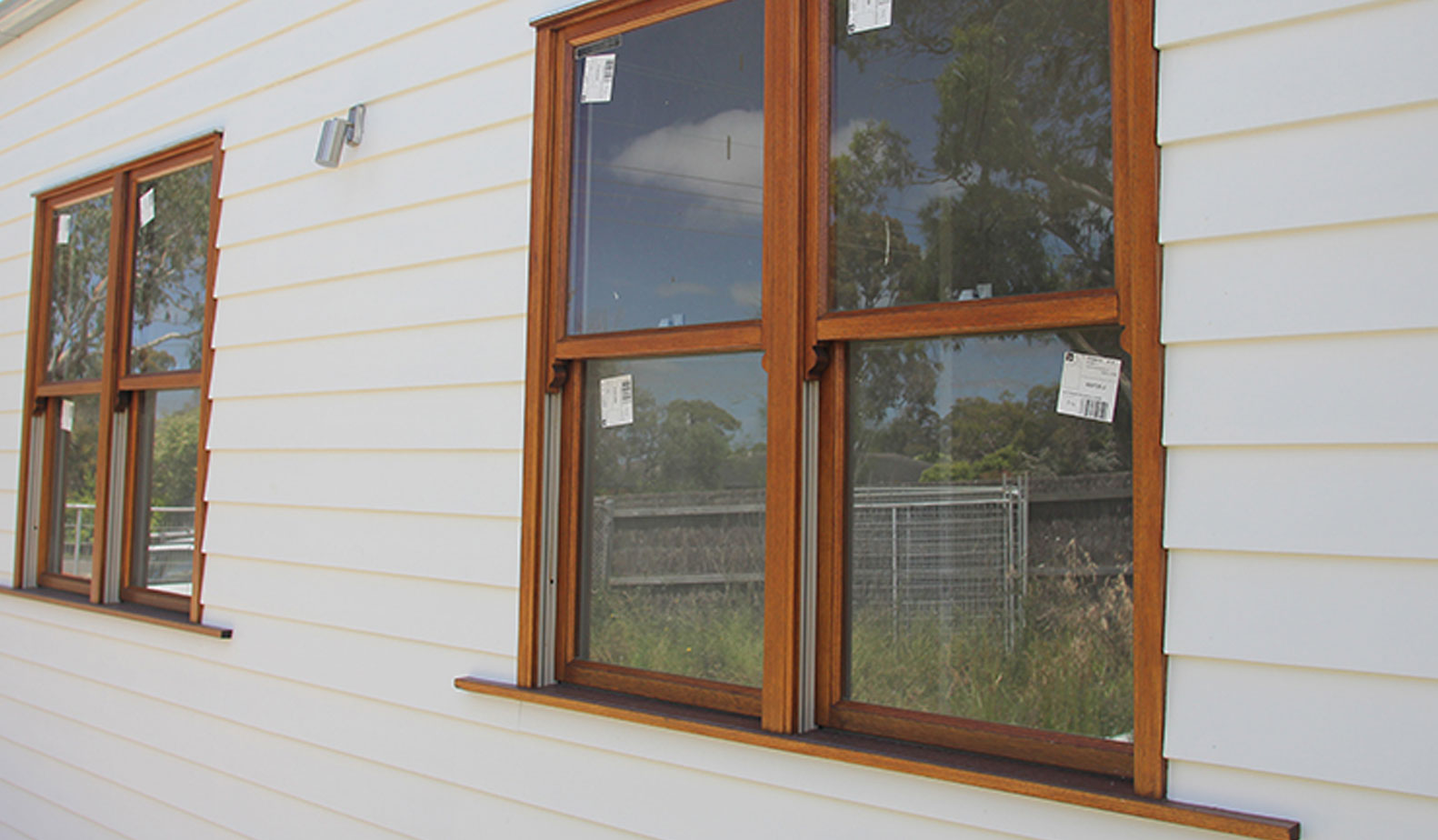 Square edge weatherboards