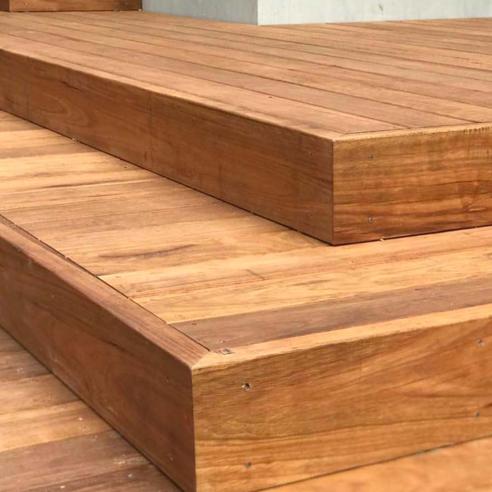 Melbourne Blackbutt Decking