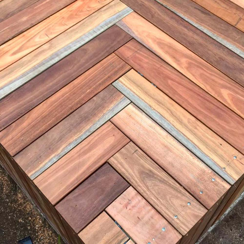 Spotted Gum Decking in Melbourne